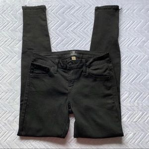 JUST BLACK | Black Skinny Ankle Jeans - Size 27